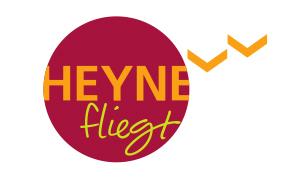 Bildergebnis für heyne fliegt logo